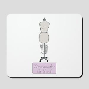 Dressmaker At Work Mousepad