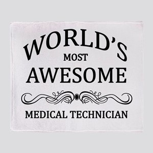 World's Most Awesome Medical Technician Throw Blan