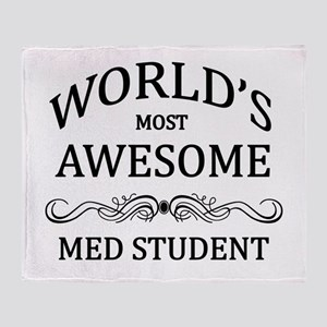 World's Most Awesome Med Student Throw Blanket