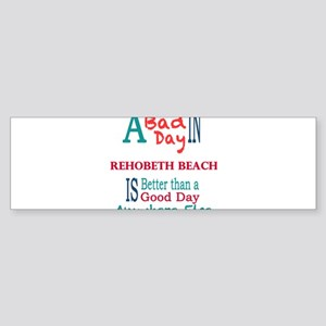 Rehobeth Beach Bumper Sticker