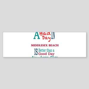 Middlesex Beach Bumper Sticker