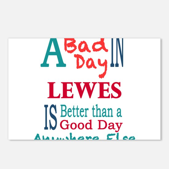 Lewes Postcards (Package of 8)
