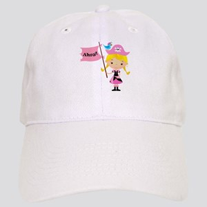 Pink Pirate Girl Cap