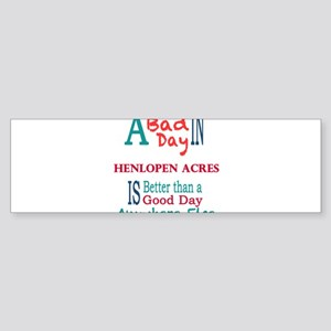 Henlopen Acres Bumper Sticker