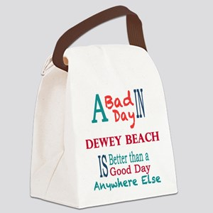 Dewey Beach Canvas Lunch Bag