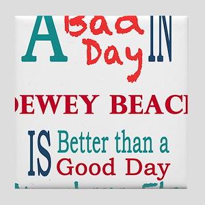 Dewey Beach Tile Coaster