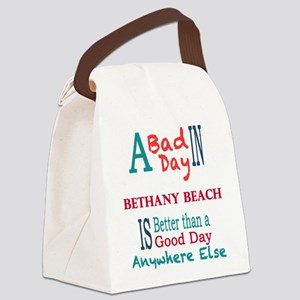 Bethany Beach Canvas Lunch Bag