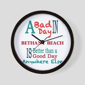 Bethany Beach Wall Clock