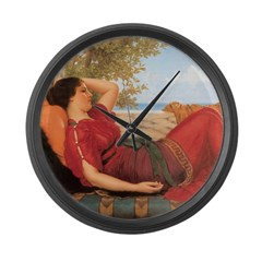 In Realms of Fancy 1911 Large Wall Clock