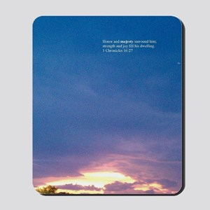 Oghene Clouds Mousepad