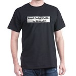 second fastest knitter in the Dark T-Shirt
