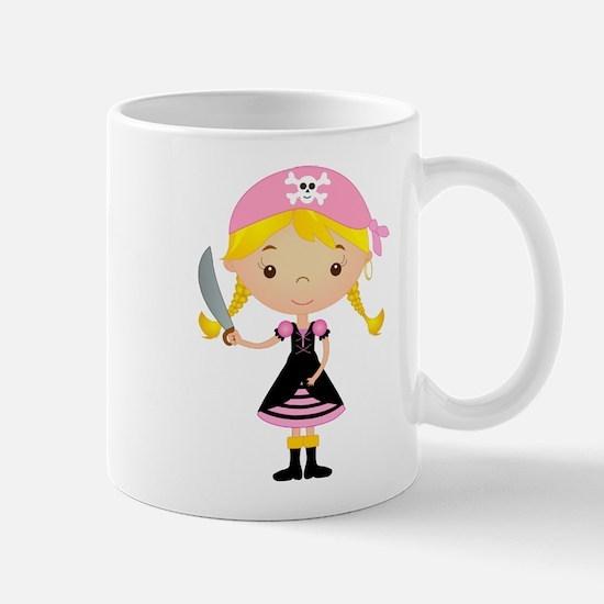 Pirate Girl w/ Sword Mug