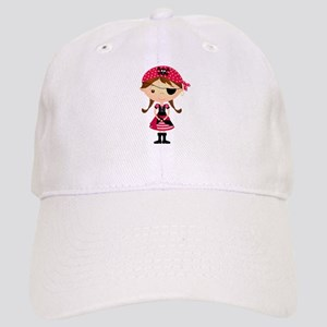 Pirate Girl in Red Cap