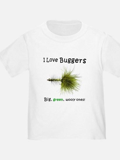 """""""I Love Buggers"""" T"""