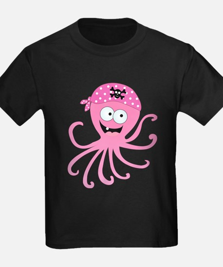 Pink Pirate Octopus T