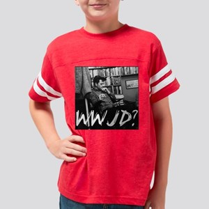 wwjd3 Youth Football Shirt