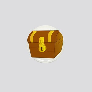 Treasure Chest Mini Button