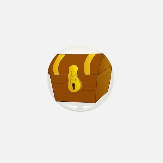 Treasure Chest Mini Button