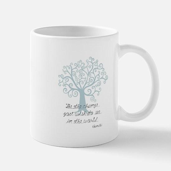 Be the Change Tree Mug
