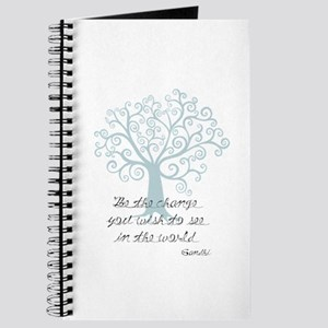 Be the Change Tree Journal