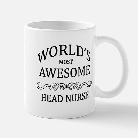 World's Most Awesome Head Nurse Mug