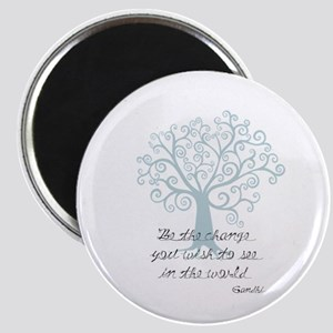 Be the Change Tree Magnet