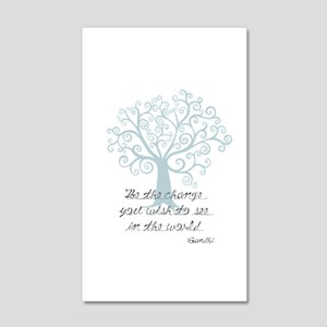 Be the Change Tree Wall Decal