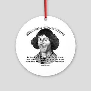 Nicolaus Copernicus 01 Ornament (Round)