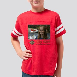 10x10_flygirl Youth Football Shirt