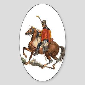 Gusarskij Oval Sticker