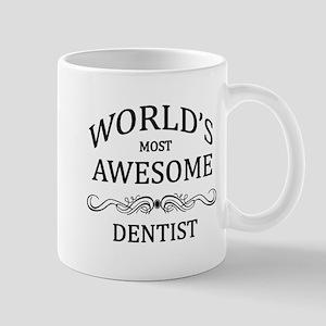 World's Most Awesome Dentist Mug