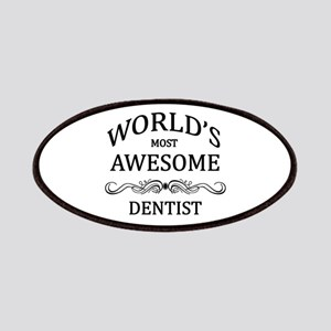 World's Most Awesome Dentist Patches
