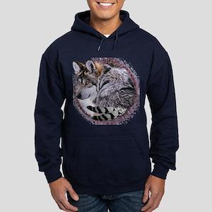 Lace Wolf Hoodie (dark)