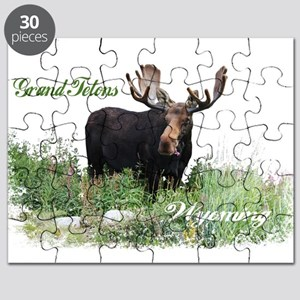 Grand Tetons WY Moose Puzzle