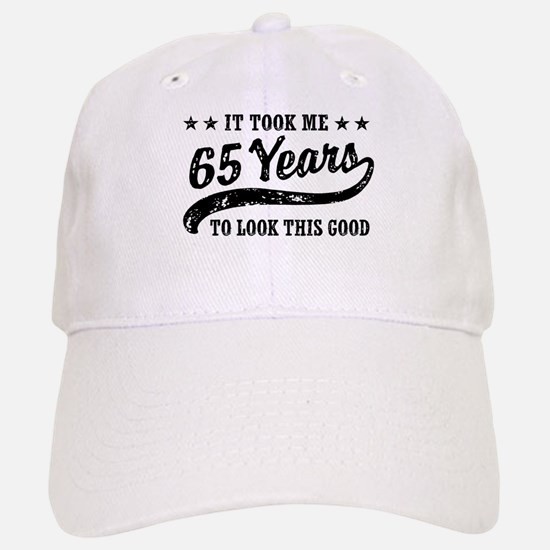 Funny 65th Birthday Baseball Baseball Cap