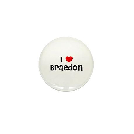 I * Braedon Mini Button (10 pack)