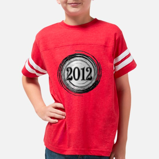 GRAD-2012 SWIRL BW Youth Football Shirt