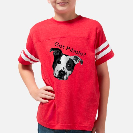 Got Pibble Square Youth Football Shirt