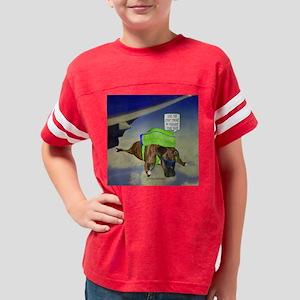 Goober 12 x 12 for C skydivin Youth Football Shirt