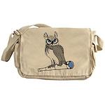 DCS Owl Messenger Bag