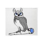 DCS Owl Throw Blanket