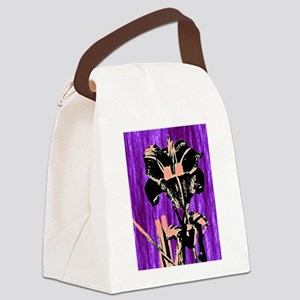 Daylily Sketch 1 Canvas Lunch Bag