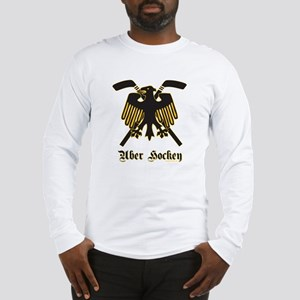 German Uber Hockey (Zwei) Long Sleeve T-Shirt