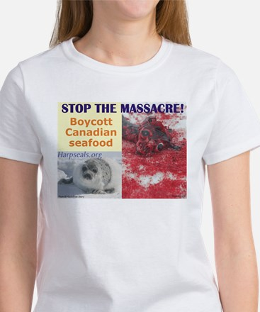 Stop the massacre T-Shirt