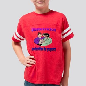 obstrition Youth Football Shirt