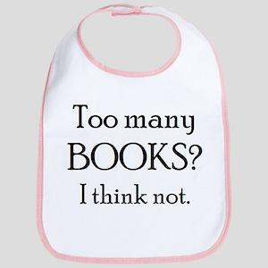 too many books Bib