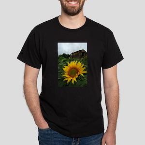 Farmhouse Sunflower Dark T-Shirt