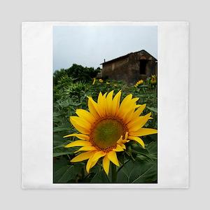 Farmhouse Sunflower Queen Duvet