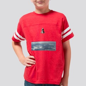 Space Shuttle Challenger in O Youth Football Shirt