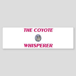 The Coyote Whisperer Bumper Sticker